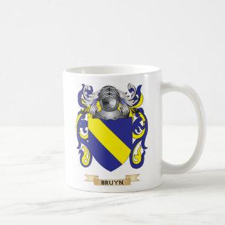 Escudo de armas de Bruyn (escudo de la familia) Taza Básica Blanca