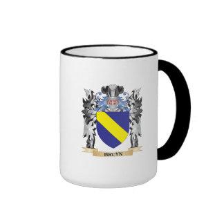 Escudo de armas de Bruyn - escudo de la familia Taza A Dos Colores