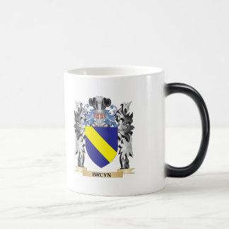 Escudo de armas de Bruyn - escudo de la familia Taza Mágica