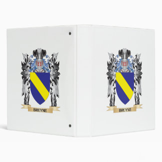 "Escudo de armas de Bruyne - escudo de la familia Carpeta 1"""