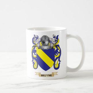 Escudo de armas de Bruyne (escudo de la familia) Taza Básica Blanca