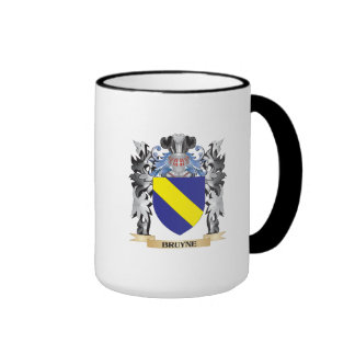 Escudo de armas de Bruyne - escudo de la familia Taza A Dos Colores