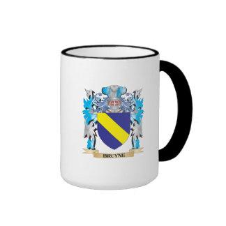 Escudo de armas de Bruyne Taza A Dos Colores