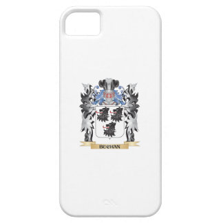 Escudo de armas de Buchan - escudo de la familia iPhone 5 Carcasas
