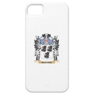 Escudo de armas de Buchane - escudo de la familia iPhone 5 Fundas