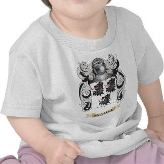 Escudo de armas de Buchane escudo de la familia Camisetas