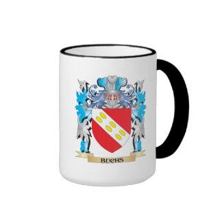 Escudo de armas de Buchs Tazas De Café