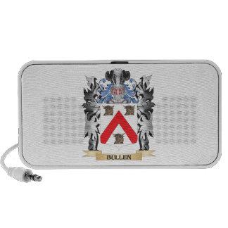 Escudo de armas de Bullen - escudo de la familia iPhone Altavoces