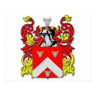 Escudo de armas de Bullock Postales