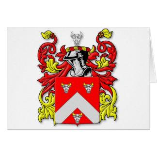 Escudo de armas de Bullock Tarjeta De Felicitación
