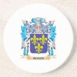 Escudo de armas de Burch Posavasos Cerveza