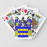 Escudo de armas de Burdette Baraja Cartas De Poker