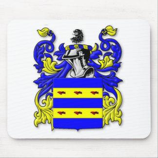 Escudo de armas de Burdette Mousepad
