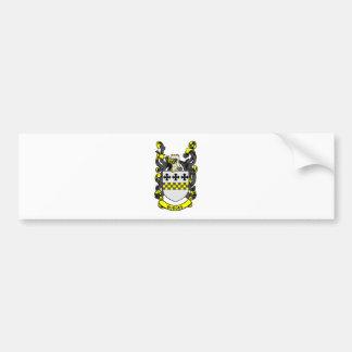 Escudo de armas de BURGES Pegatina De Parachoque