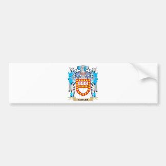 Escudo de armas de Burges Pegatina Para Coche