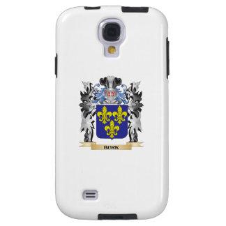 Escudo de armas de Burk - escudo de la familia Funda Para Galaxy S4