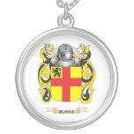 Escudo de armas de Burke (escudo de la familia) Collares Personalizados