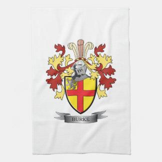 Escudo de armas de Burke Toallas De Mano