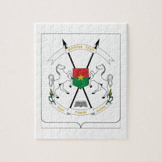 Escudo de armas de Burkina Faso Puzzles