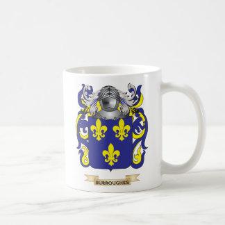 Escudo de armas de Burroughes (escudo de la Tazas
