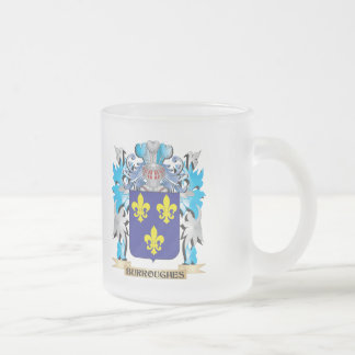 Escudo de armas de Burroughes Taza De Café
