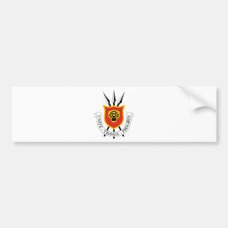 Escudo de armas de Burundi Pegatina Para Auto