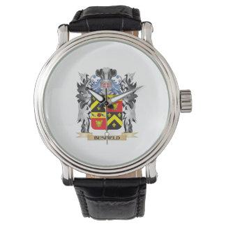 Escudo de armas de Busfield - escudo de la familia Relojes De Pulsera