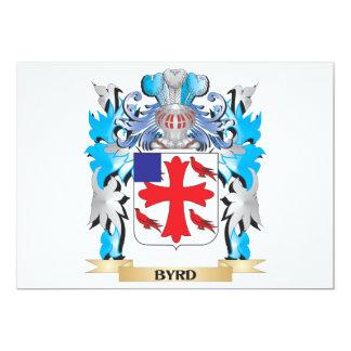Escudo de armas de Byrd Invitacion Personalizada