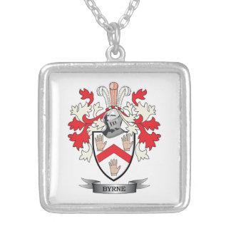 Escudo de armas de Byrne Collar Plateado