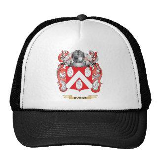 Escudo de armas de Byrne (escudo de la familia) Gorros Bordados