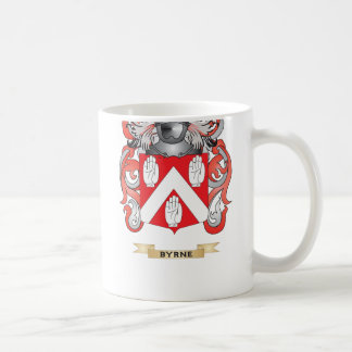 Escudo de armas de Byrne (escudo de la familia) Taza De Café