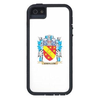 Escudo de armas de Caballer - escudo de la familia iPhone 5 Fundas