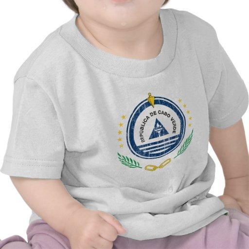 Escudo de armas de Cabo Verde Camiseta