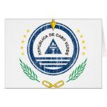 Escudo de armas de Cabo Verde Felicitaciones