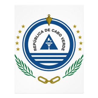 Escudo de armas de Cabo Verde Membrete