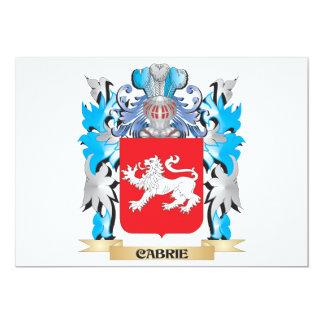 Escudo de armas de Cabrie - escudo de la familia Invitacion Personalizada