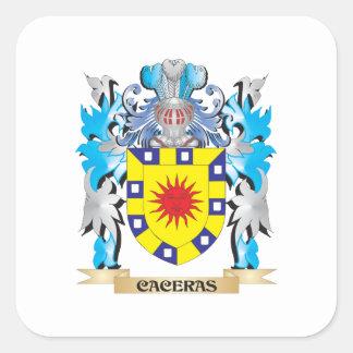 Escudo de armas de Caceras - escudo de la familia