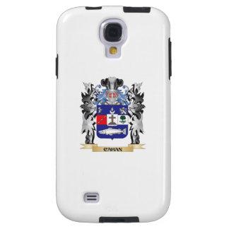 Escudo de armas de Cahan - escudo de la familia Funda Para Galaxy S4