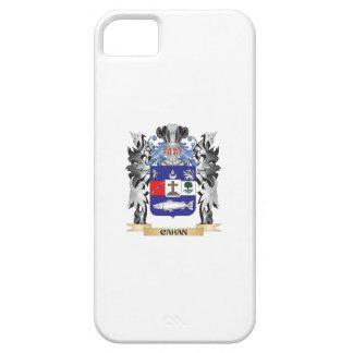 Escudo de armas de Cahan - escudo de la familia Funda Para iPhone 5 Barely There