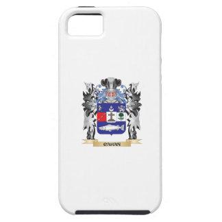 Escudo de armas de Cahan - escudo de la familia iPhone 5 Funda