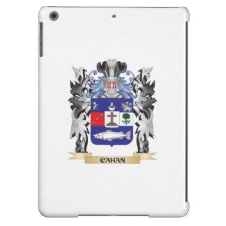 Escudo de armas de Cahan - escudo de la familia Funda Para iPad Air
