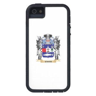 Escudo de armas de Cahan - escudo de la familia iPhone 5 Carcasa