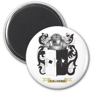 Escudo de armas de Caldero escudo de la familia Imanes