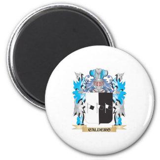 Escudo de armas de Caldero - escudo de la familia