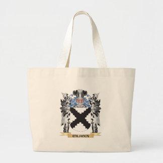 Escudo de armas de Calhoun - escudo de la familia Bolsa Tela Grande