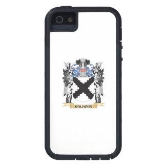 Escudo de armas de Calhoun - escudo de la familia iPhone 5 Fundas