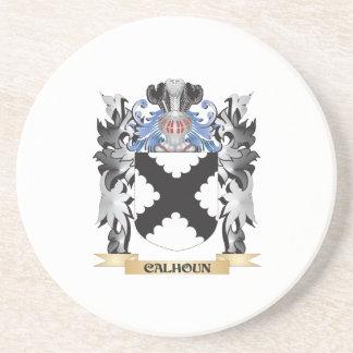 Escudo de armas de Calhoun - escudo de la familia Posavasos Manualidades
