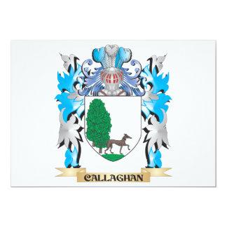 Escudo de armas de Callaghan - escudo de la Comunicado Personal