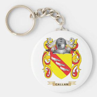 Escudo de armas de Callan (escudo de la familia) Llavero Redondo Tipo Pin