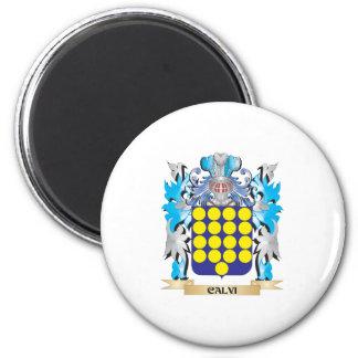 Escudo de armas de Calvi - escudo de la familia